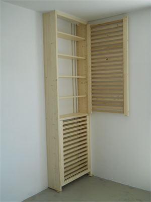Cache radiateur 2
