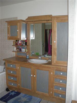 meuble de salle de bain bois